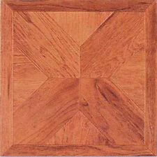 Wood Vinyl Flooring 40 Pcs Self Adhesive Floor Tiles - Actual 12'' x 12''