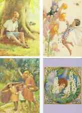 SET OF FOUR MEDICI  COLLECTABLE POSTCARDS BY MARGARET TARRANT