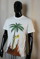 Palm Angels t-shirt skeleton white