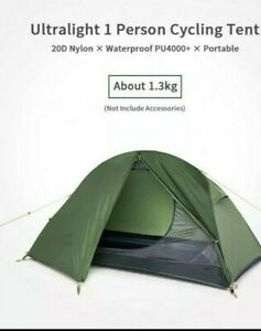 Naturehike NH18A095 Ultralight 20D 1 PER Tent Hiking Cycle Touring great 4 DOE