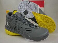 Nike Jordan flight Time 14.5, Grey / Yellow 14 retro Design Lunarlon, Sz 8.5