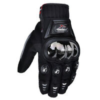 Stealth Hard Knuckle Motorcycle Gloves Motorbike Powersport Racing Tactical Gant