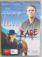 LOVE & RAGE (1999) DVD MOVIE Greta Scacchi, Daniel Craig, Stephen Dillane