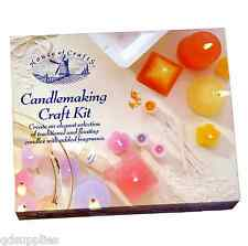 CANDLE MAKING CANDLEMAKING CRAFT KIT HOUSE OF CRAFTS WAX WICK MOULDS DYE HC140