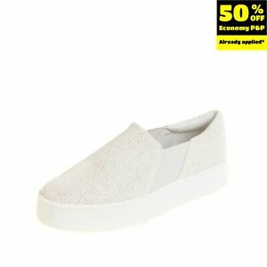 RRP €140 VINCE. Sneakers Size 37.5 UK 4.5 US 7.5 Woven Padded Elasticated Insert