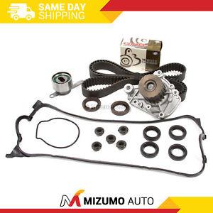 Timing Belt Kit Water Pump Fit 96-00 Honda Civic 1.6L SOHC D16Y5 D16Y7 D16Y8