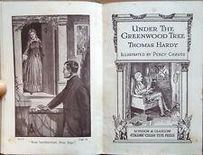 C. 1930, HARDY, UNDER THE GREENWOOD TREE, LETTERATURA INGLESE ENGLISH LITERATURE