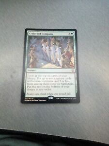 Magic the Gathering Dragons of Tarkir Collected Company Near Mint Foil