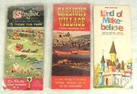 Vtg Lot Amusement Park Brochure Ephemera Storytown Land Make-believe Gaslight