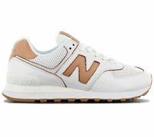 New Balance Classics 574 WL574WNG Damen Sneaker Leder Weiß Schuhe Turnschuhe NEU
