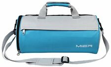 MIER Barrel Sports Bag Small Gym Bag with Shoes Compartment for Men and Women, 2