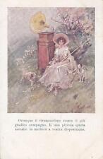 C3749) IL GRAMMOFONO RIESCE IL PIU' GRADITO COMPAGNO. VIAGGIATA NEL 1919.