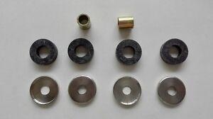 Kit gommini radiatore Fiat 616 N2 N2/4 N3 N3/4 - Set engine cooler rubbers