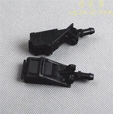 Pair Of Front Washer Jet Spray Nozzle For VW Jetta Golf MK4 Passat SKODA SEAT