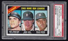1966 Topps #218 AL Home Run Leaders Conigliaro/Cash/Horton PSA 6