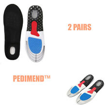 Pedimend™ 2 Pairs Men Gel Raise Heel Insoles Football Rugby Cycling Shoe Inserts