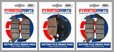 Honda CB 600 Hornet S 00-03 Front & Rear Brake Pads Full Set (3 Pairs)