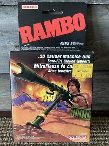Vintage Rambo .50 Caliber Machine Gun 1986 Coleco New In Box No.1