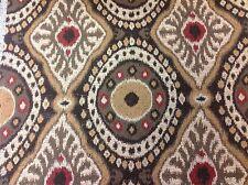 Kravet Couture Ethnic Ikat Kilim Upholstery Fabric- Bursa Suzani/Bronze 0.85 yd