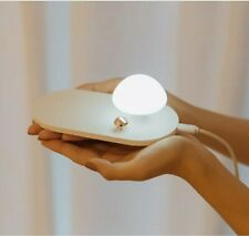 10W Wireless Charger with Touch-Control Silicone Mushroom Night Light