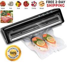 Food Vacuum Sealer Saver Machine Home Sealing System Meal Fresh Saver Packing
