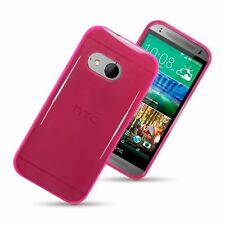Silicone/Gel/Rubber Glossy Fitted Cases for HTC One