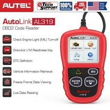 Autel AL319 OBD2 CAN Car Code Reader Engine Check Clear Read Fault Codes Scanner