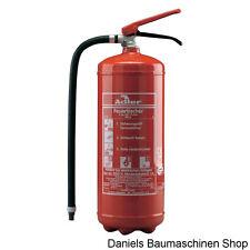 ADLER Feuerlöscher ABC - Pulverlöscher incl.Wandhalter 6kg  BBQ  09-010