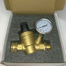 "3/4"" NH Threading Water Pressure Reducing Valve Lead-Free Brass Adjustable USA"