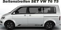 VW T6 T5 Seitenstreifen Edition NEU 1 farbig Wunschfarbe Set Decal Sticker