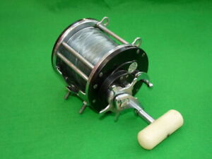 Ocean City 609A vintage big game sea fishing reel 6/0 size wide drum ready to...