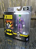DC BATMAN THE JOKER CAPED CRUSADER ACTION FIGURE 1st ED SPIN MASTER BRAND NEW