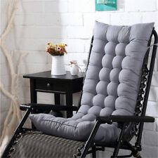 Removable Garden Recliner Rocking Chair Outdoor Patio Thick Sun Seat Pad Cushion