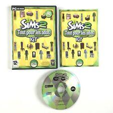 Les Sims 2 Tout Pour Les Ados PC Kit / Jeu Complet