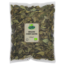 Organic Dried Curry Leaves Whole 250g Certified Organic