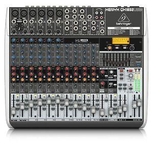 Behringer mixer QX1832USB gebraucht wie neu