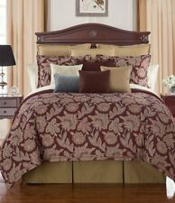 Waterford Linens Harwich European Pillow Sham in Wine