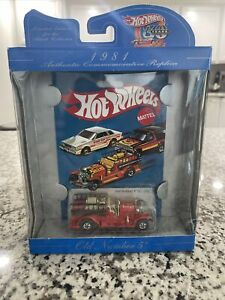 Hot Wheels 30th Anniversary Old Number 5 Red NIB