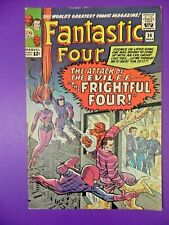 1965 Silver Age Fantastic Four #36 1st Medusa Frightful Four Rare Hot Key 4.0