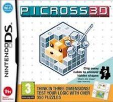 PICROSS 3D DS NINTENDO NUOVO ITALIANO 3DS 2DS + OMAGGIO
