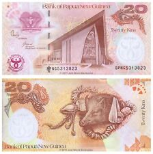 Papua New Guinea 20 Kina 2008 P-36 Commemorative Banknotes UNC