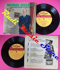 LP 45 7'' MAURICE CHEVALIER Ah si vous saviez A la francaise Mais no cd mc dvd