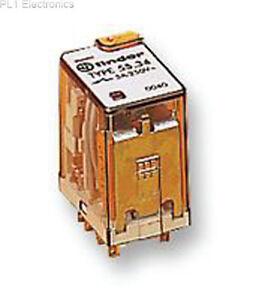 FINDER - 55.34.9.024.0040 - Relais, 4PCO, 24VDC, 7A, Stecker