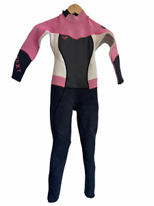 Roxy Girls Full Wetsuit Childs Kids Size 6 Syncro 3/2
