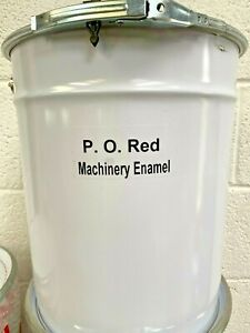 20LTR POST OFFICE RED - AGRICULTURAL PLANT & MACHINERY ENAMEL GLOSS METAL PAINT