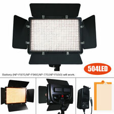 Professional Photography Studio 504 LED Video Light Panel Camera Photo Lightig