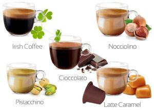 50 kompatib. Nespresso® Kapseln MIX Schoko·Karamell·Haselnuss·Pistazie·Irish