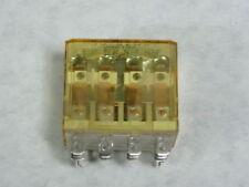 IDEC RH4B-UL-AC120V Midget Relay 10A 4PDT 14-Blade 120VAC  USED