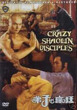 Crazy Shaolin Disciples-- Hong Kong Kung Fu Martial Arts Action movie DVD - NEW