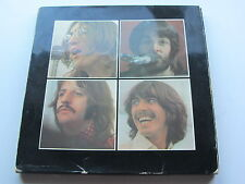THE BEATLES   ORIGINAL 1970  UK LP  LET IT BE  BOX SET RED APPLE POSTER -2U -2U